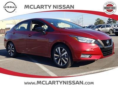 new 2021 Nissan Versa car, priced at $19,534