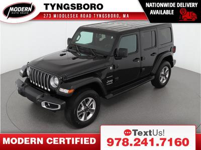 used 2020 Jeep Wrangler Unlimited car, priced at $45,980