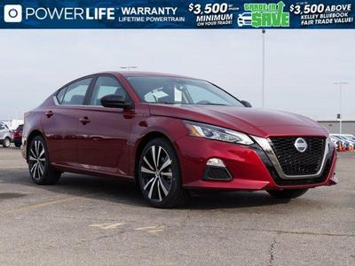 new 2021 Nissan Altima car, priced at $28,200