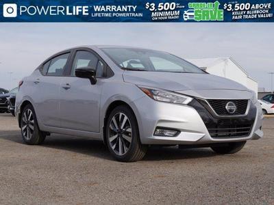 new 2021 Nissan Versa car, priced at $20,045