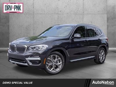used 2021 BMW X3 car, priced at $47,695