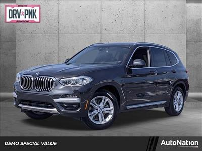 used 2021 BMW X3 car, priced at $50,595