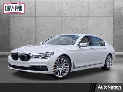 used 2018 BMW 750 car, priced at $53,483
