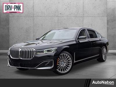 new 2021 BMW 750 car, priced at $111,595