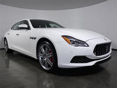 new 2018 Maserati Quattroporte car, priced at $74,990