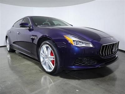 used 2019 Maserati Quattroporte car, priced at $73,990