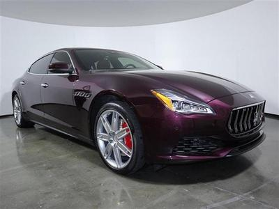 used 2019 Maserati Quattroporte car, priced at $69,990