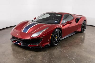 used 2020 Ferrari 488 Pista Spider car, priced at $589,900