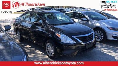 used 2018 Nissan Versa car, priced at $8,828