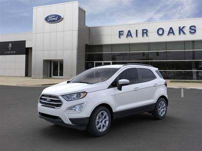 new 2021 Ford EcoSport car, priced at $20,624