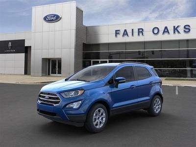new 2021 Ford EcoSport car, priced at $22,954
