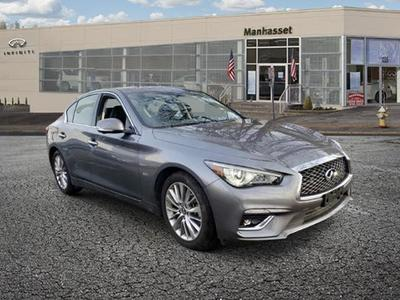 used 2018 INFINITI Q50 car, priced at $28,887