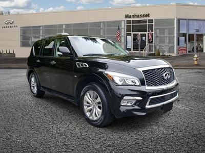 used 2017 INFINITI QX80 car, priced at $40,795