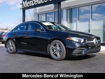 new 2020 Mercedes-Benz A-Class car, priced at $43,320