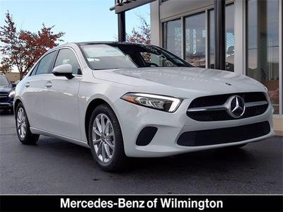 new 2021 Mercedes-Benz A-Class car, priced at $40,615
