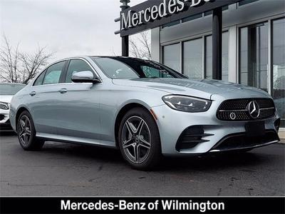 new 2021 Mercedes-Benz E-Class car, priced at $68,020
