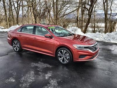 new 2021 Volkswagen Passat car, priced at $25,293