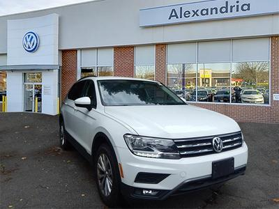 used 2018 Volkswagen Tiguan car, priced at $17,800