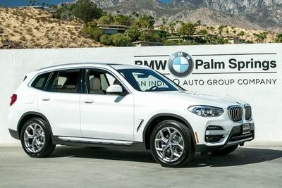 new 2021 BMW X3 car, priced at $49,195