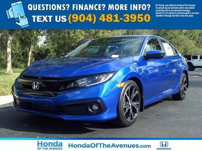new 2020 Honda Civic car, priced at $23,555