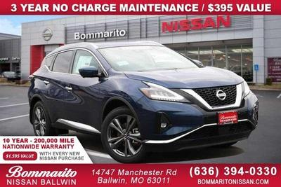 new 2021 Nissan Murano car, priced at $40,264