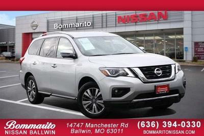 used 2020 Nissan Pathfinder car, priced at $26,290