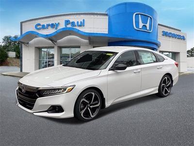 new 2021 Honda Accord car, priced at $26,492