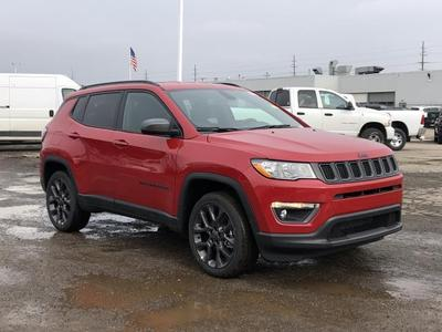 new 2021 Jeep Compass car, priced at $31,672