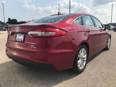 new 2019 Ford Fusion Hybrid car, priced at $25,487