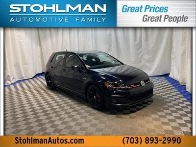 new 2021 Volkswagen Golf GTI car, priced at $31,862