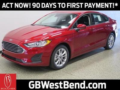 new 2020 Ford Fusion Hybrid car, priced at $24,185