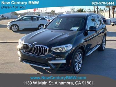 used 2018 BMW X3 car, priced at $33,738