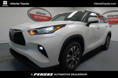 used 2020 Toyota Highlander car