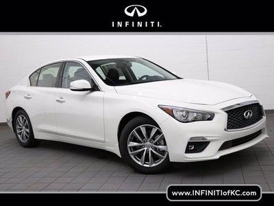 new 2021 INFINITI Q50 car, priced at $38,526