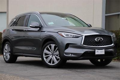 new 2021 INFINITI QX50 car, priced at $51,160