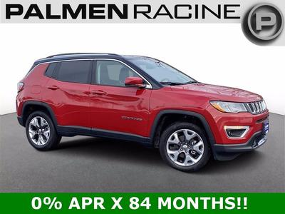 new 2021 Jeep Compass car, priced at $32,469
