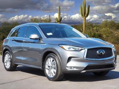 new 2021 INFINITI QX50 car, priced at $43,235