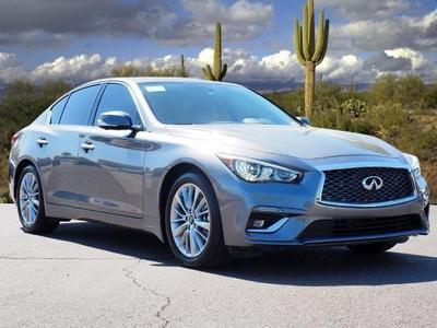 new 2021 INFINITI Q50 car, priced at $46,080