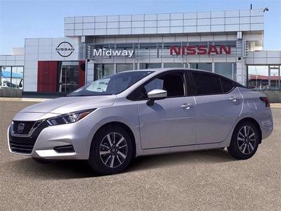 new 2021 Nissan Versa car, priced at $18,123