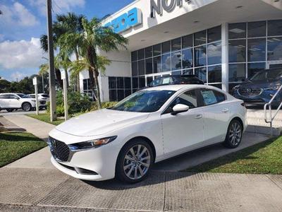 new 2021 Mazda Mazda3 car, priced at $24,040
