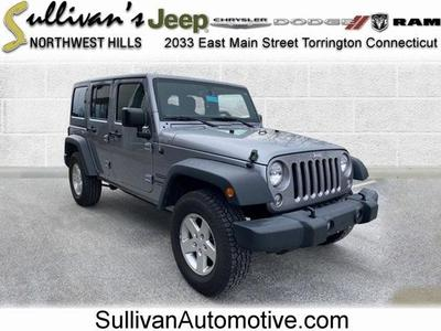 used 2017 Jeep Wrangler Unlimited car, priced at $26,654
