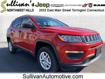 new 2020 Jeep Compass car, priced at $27,047