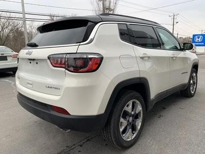 new 2021 Jeep Compass car, priced at $29,642
