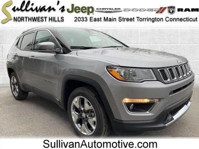 new 2021 Jeep Compass car, priced at $29,867