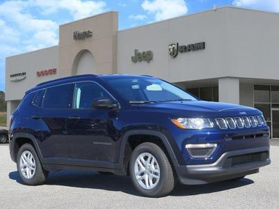 new 2021 Jeep Compass car, priced at $20,817
