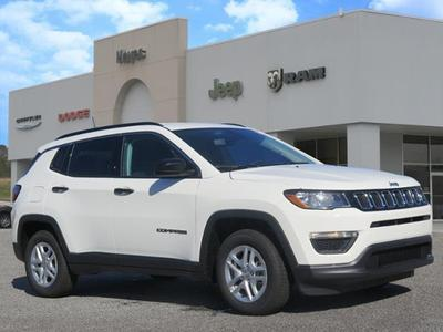 new 2021 Jeep Compass car, priced at $20,603