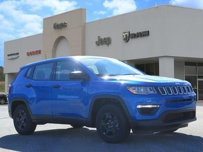 new 2021 Jeep Compass car, priced at $19,859