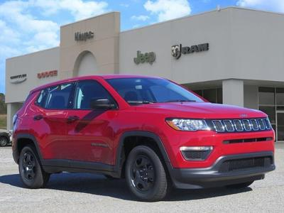 new 2021 Jeep Compass car, priced at $20,907