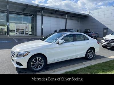 used 2018 Mercedes-Benz C-Class car, priced at $28,900
