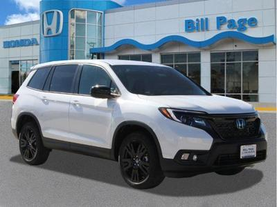 new 2019 Honda Passport car, priced at $33,890